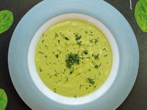 Шпинатний крем – суп